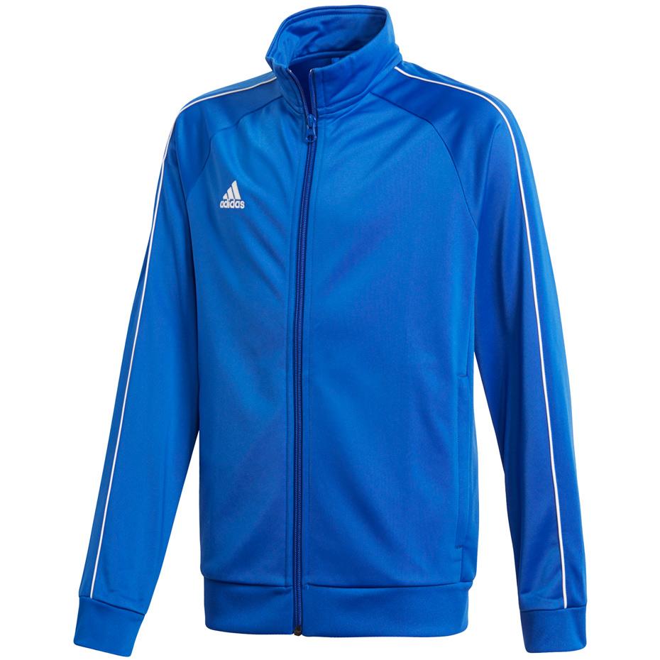 Bluza adidas Core 18 Jr CV3578 niebieska