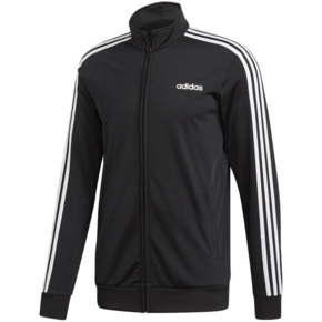 Bluza adidas Essentials 3 Stripes Tricot TT czarna DQ3070