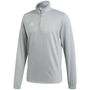 Bluza adidas CORE 18 TRAINING TOP szara CV4000