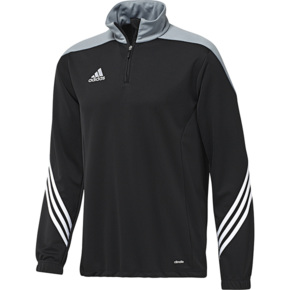 Bluza adidas SERENO 14 TRAINING TOP JR czarno-szara F49718