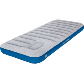Materac welurowy High Peak Cross Beam Single Extra Long j.szary niebieski 40043