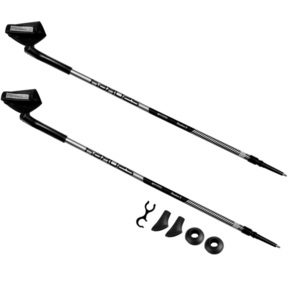 Kijki do Nordic Walking Spokey Meadow II szaro-czarne 927836